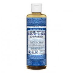 Dr Bronner's - Peppermint - Pure Castille Liquid Soap - 08 oz/237 ml