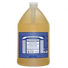 Dr Bronner's - Peppermint - Pure Castille Liquid Soap - 1 Gallon/3,8 L