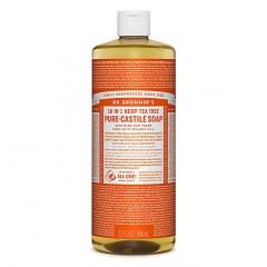 Dr Bronner's - Tea Tree - Pure Castille Liquid Soap - 32 oz/946 ml