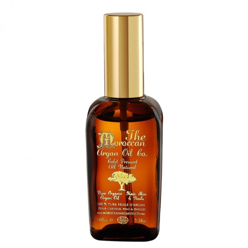 The Moroccan Argan Oil Co. 100% Pure Organic & Cold Pressed Argan Oil / 100ml Spray