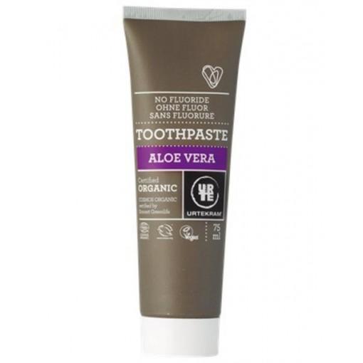 Urtekram Organic Aloe Toothpaste - Flouride Free (75ml)