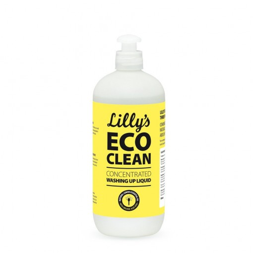 Lilly's Ecoclean - Concentrated Washing-Up Liquid - 500 ml