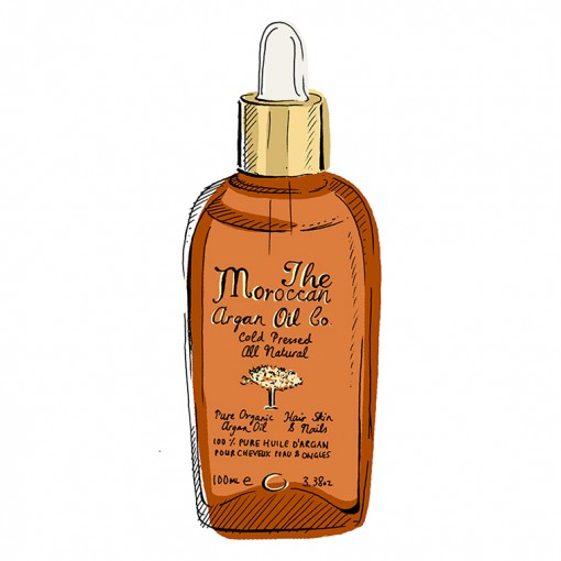 The Moroccan Argan Oil Co. - 100% Pure Organic & Cold Pressed Argan Oil - Dropper - 100ml