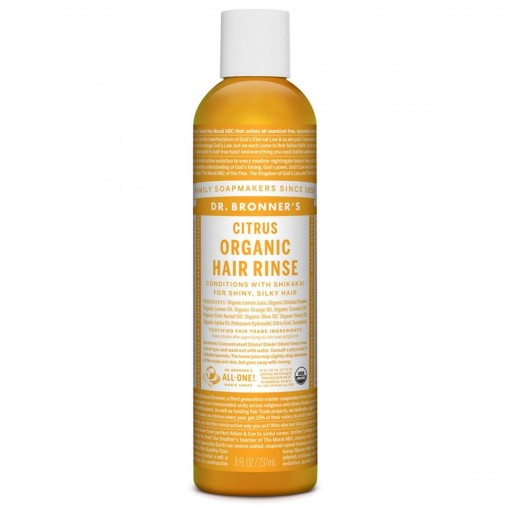 Dr. Bronner's Citrus Organic Hair Rinse 237ml [Colour May Vary]