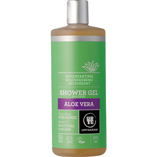 Urtekram - Aloe Vera - Shower Gel - 500 ml