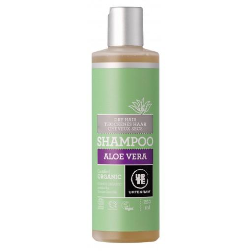 Urtekram - Shampoo (Dry Hair) - Organic Aloe Vera - 250 ml