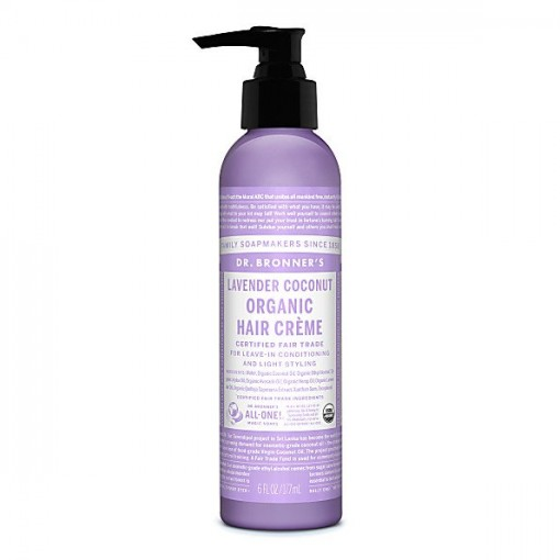 Dr Bronner's - Lavender Coconut - Hair Creme - 06 oz/175 ml