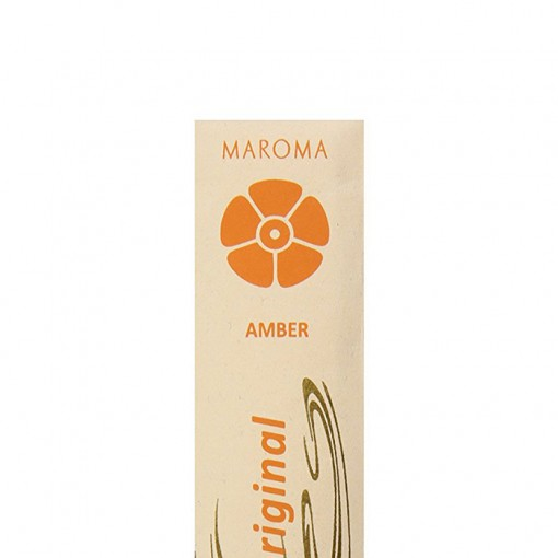 Maroma - Encens d'Auroville - Amber - 10 Incense Sticks