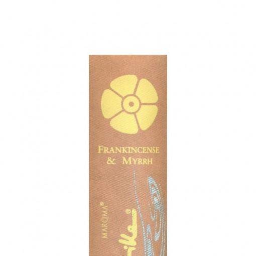Maroma - Encens d'Auroville - Frankincense & Myrrh - 10 Incense Sticks