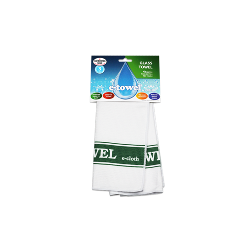 E-Cloth Glass Cleaning Towel, Green