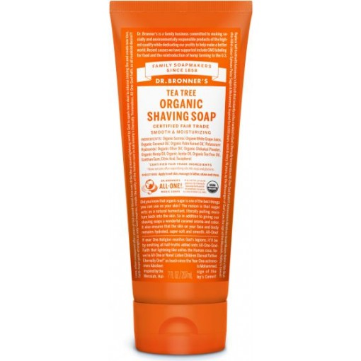 Dr Bronner's - Tea Tree - Shaving Soap - 07 oz/207 ml