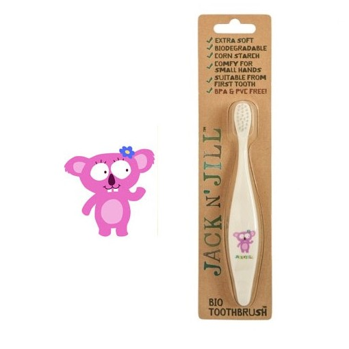 Jack N' Jill - Koala - Compostable & Biodegradable Toothbrush