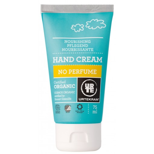 Urtekram - Hand Cream - No Perfume - 75 ml