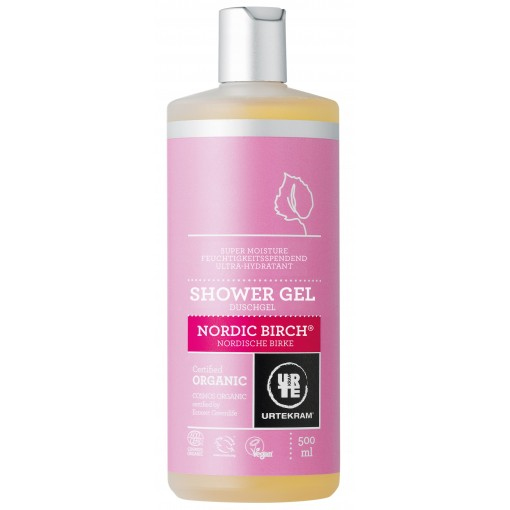 Urtekram - Shower Gel - Nordic Birch - 500 ml