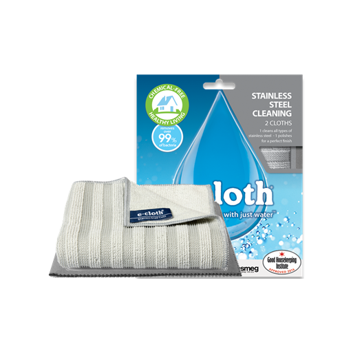 E-Cloth - Stainless Steel Pack - 2 Cloths