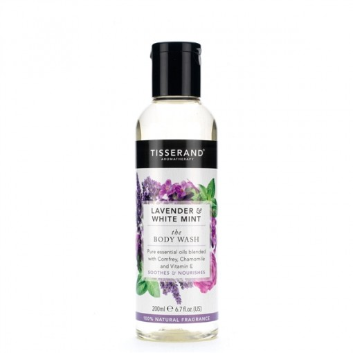 Tisserand Lavender White Mint Body Wash 200ml
