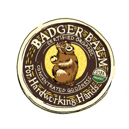 Badger Balm For Hardworking Hands, 21g/0.75 Oz