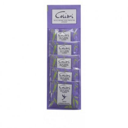 Colibri - Wool Protect Lavender Mini Sachets - Strip of 5