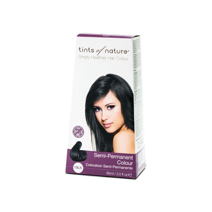 Tints of nature - Semi Permanent Hair Colour - 1BLK Black
