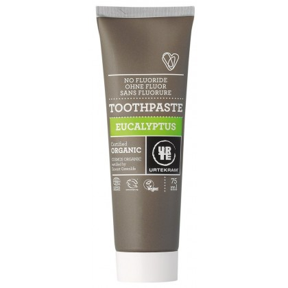 Urtekram 75ml Eucalyptus Organic Toothpaste