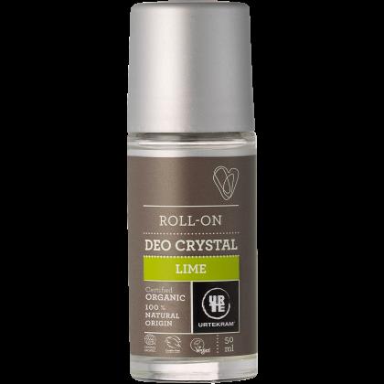 Urtekram - Lime - Crystal Roll-On Deodorant - 50 ml