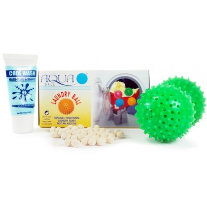 Aquaball Eco Laundry Balls (Unscented)