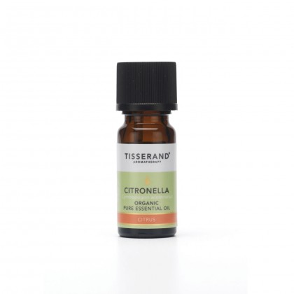 Tisserand - Organic Pure Essential Oil - Citronella - 9 ml