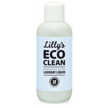 Lilly's Ecoclean Concentrated Non bio Laundry Liquid Unscented With Organic Aloe Vera 1L