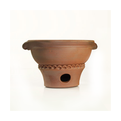 Flame - Tanjore - Terracotta Incense Burner