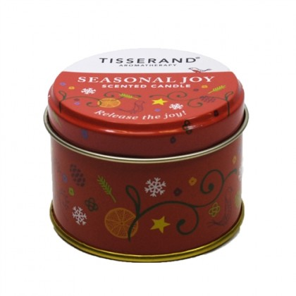 Tisserand -  Seasonal Joy Candle - Red - 100g