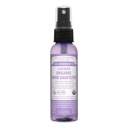 Dr Bronner's - Lavender - Organic Hand Sanitizer - 02 oz / 59 ml