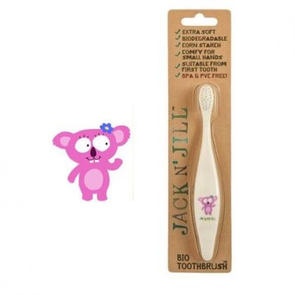 Jack N' Jill Koala Compostable and Biodegradable Toothbrush