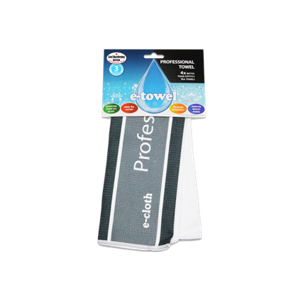 E-CLOTH E-TOWEL PROFESSIONAL FINISH