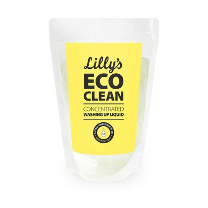 Lilly's Eco Clean - Washing Up Liquid Lemon Refill - 500 ml