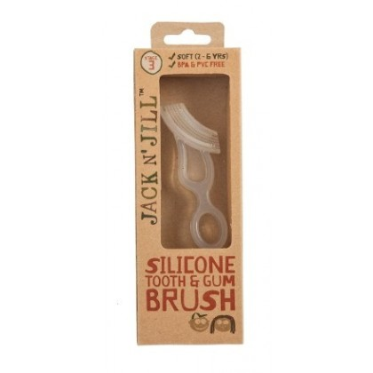 Jack N' Jill - Silicone Tooth & Gum Brush