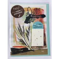 Botanical Paperworks Grilled Dill Salmon Plantable Paper Card