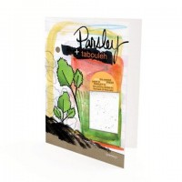 Yummy card Tabouleh with Parsley Plantable Paper Gift Card