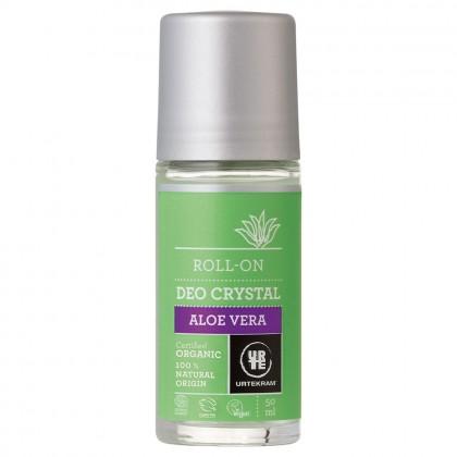 Urtekram - Aloe Vera - Crystal Roll-On Deodorant - 50 ml
