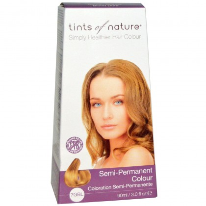 Tints of nature - Semi Permanent Hair Colour - 7GBL Golden Blonde