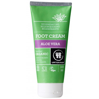 Urtekram - Aloe Vera - Foot Cream - 100 ml