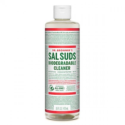 Dr Bronner's - Sal Suds - Biodegradable Liquid Cleaner - 16 oz/473 ml