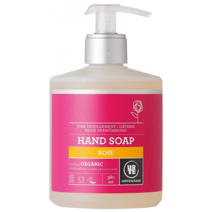 Urtekram - Liquid Hand Soap - Rose - 380 ml