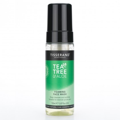 Tea Tree & Aloe Foaming Face Wash
