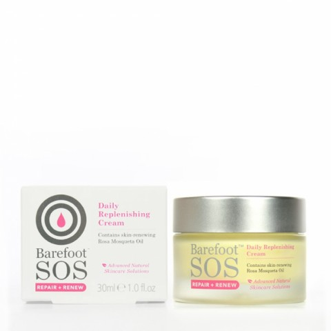 Barefoot SOS - Repair & renew - Daily Replenishing Cream - 30 ml