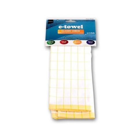 E-Cloth - Classic Check - Yellow