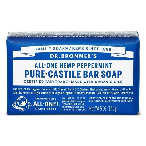 Dr Bronner's - Peppermint - Soap Bar - 140 gr