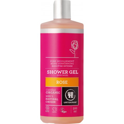 Urtekram - Rose - Shower Gel - 500 ml