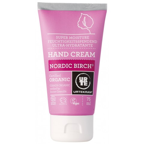Urtekram - Nordic Birch - Hand Cream - 75 ml