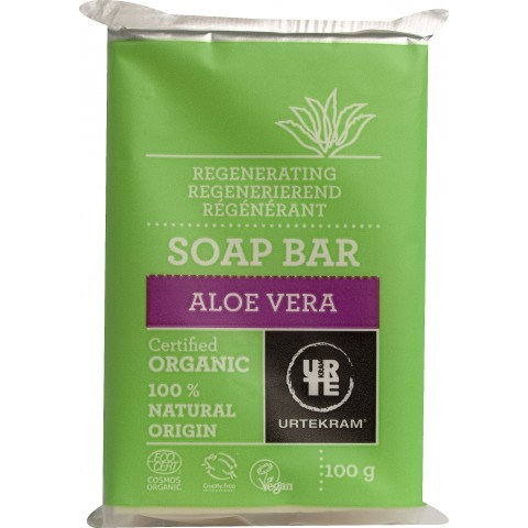 Urtekram - Aloe Vera - Soap Bar - 100 gr