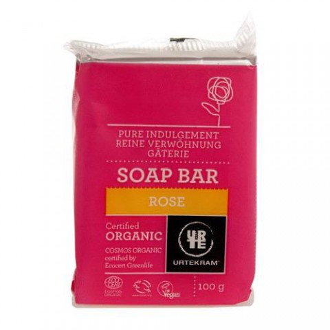 Urtekram - Rose - Soap Bar - 100 gr